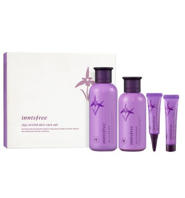 Jeju orchid skin care set